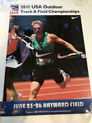 2011 Usa Outdoor Track And Field Championships Hayward Field Nick Symmonds Poster