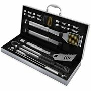 Home-complete Bbq Grill Tool Set- 16 Piece Stainless Steel Barbecue Grilling