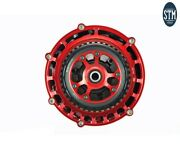 Kit Evo Sbk Clutch 48d Bell Discs New Cover Stm Ducati 1199 Panigale 20122014