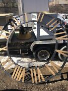 Modern X Large Clock Face 7 Foot Indoor Or Outdoor Home Decor Building Metal