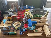 Giant Lot Of Learning Curve Thomas The Train Wooden Railway