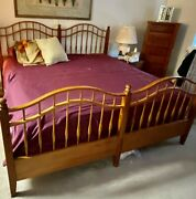 Ethan Allen Country Crossings King Bed - Beautiful