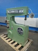 Jet Vbs 500 Jet Vbs 500 Vertical Band Saw 20 X 8 18 X 16 Table 0920131