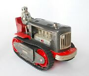 Vintage Nomura Robot Tractor Battery Operated N Mint Condition Made In Japan
