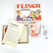 Flinch Vintage 1976 Parker Brothers Card Game Muggins Authors Patience Complete