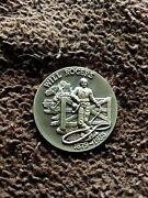 Longines Symphonette Sterling Silver Medal Will Rogers 1879 - 1935
