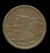 1842 ... F Fine Clear Date ... Large Cent 216-303