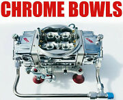 Quick Fuel Q-750-ban Annular Clear Color Mech Blow Thru With Chrome Bowls + Line