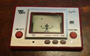Rare Nintendo Time Out Toss Up Ball Lcd Game And Watch 1980 Mego Corp Japan Ac01