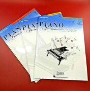 3 Piano Adventures Music Level 2a Lesson, Theory, + Technique And Artistry Books