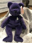 425 Rare 1997 Authentic Princess Diana Beanie Baby 1st Edition Mint Condition