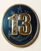 Authentic Mcpon 13 United States Navy Mike Stevens Usn Challenge Coin -real-