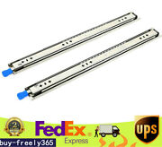 18'' Heavy Duty Drawer Slide 266lbs Ball Bearing With Lock Full Extension 1 Pair