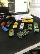 Dinky Toys Miniatures Collectibles Vintage Trucks And Cars Lot Of 10 China Made