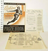 1945 Beatrice Creamery Company Tap Triple Action Plan Meadow Gold Prize Book