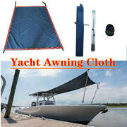 Sun Shade Canopy Top 2stainless Steel Tube High Adjustable Yacht Awning Cloth
