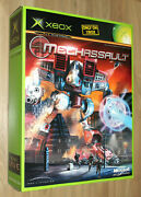 Mechassault Promo Game Store Display Box Standee Ad Old Xbox 2002 Collectible