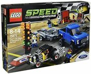 Lego Speed Champions Ford F-150 Raptor And Model A Hot Rod