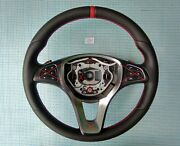 15-19 Mercedes A Cls Gle Gla Gls New Nappa/perforated Leather Sw Red Mark/stitch