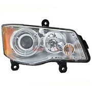 New Hid Headlight Lens Housing Rh Fits 08-16 Chrysler Town And Country 5113334af
