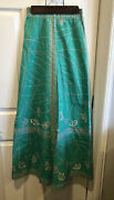 Vintage 1960's Emilio Pucci Long Skirt Sz 6 Florence Italy Saks Fifth Avenue