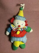 14 Eden Clown Crib Pull Musical Terry Plush Stuffed Toy You Are My Sunshine