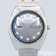 Citizen Crystal Seven Custom Original Dial Automatic Vintage Watch 1969and039s