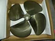 Michigan Nibral 4 Blade Propeller 23l X 21 And 23r X 21 P 761792x And 761793x New