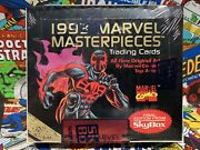 1993 Marvel Masterpieces Trading Cards Box Factory Sealed 36 Packs