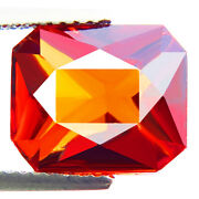 7.73ct Wow Awesome Natural Top 5a+ Orange Red Color Hessonite Garnet Amazing Gem