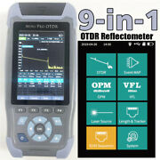 Otdr Reflectometer 9 Functions In 1 Device Opm Ols Vfl Event Map Rj45 Ethernet