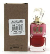 Oui Perfume By Juicy Couture 3.4 Oz. Edp Spray For Women. New Tester With Cap