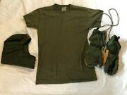 Us Military Cold Weather Insulating Helmet Liner Sz 7 Cold Weather Mittens And Bag