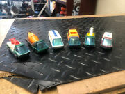 Look Vintage 1969 Hot Wheels The Heavyweights Collection Set 6 Total