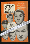 Lucille Ball New England Tv Guide October 1951 Debut Of I Love Lucy Gabby Hayes