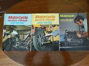 Vtg Lot Of 3-- 2and4 Stroke Motorcycle Service Magazines volume 1,2,4 4th Edition