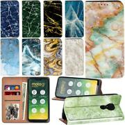 Printed Pu Smart Stand Wallet Phone Cover For Moto E6/e6s/g7 Play/g8 Power Phone