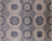 Mamluk Hand-knotted Wool Rug 8and039 X 9and039 10 - Q7309