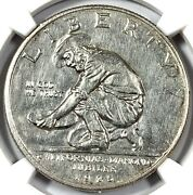 1925-s United States California Silver Comm Half Dollar - Ngc Unc Details