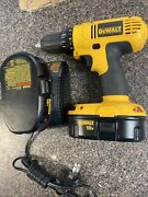 Dewalt Dc970 1/2 Cordless Drill Driver Set With Charger And One Battery