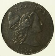 1794 Flowing Hair Cent Anacs Extra Fine Details. S-28 Sharp.