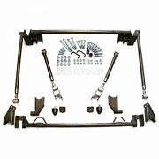 1966-1967 Ford Fairlane/ Comet Triangulated Rear 4-link Suspension Kit 500xl Sbf