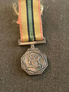 South African Railway Police Faithful Service Medal Mess Dress Size