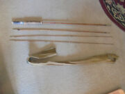Vintage 4 Pc Tonkin Cane Fly Fishing Rod Fishing Tackle Thatand039s Fit For Fishing