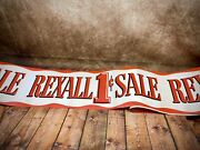 Nos Vintage Rexall Drug Store Banner Ad Advertisement Boarder Roll