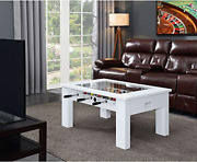 Hanover Foosball Coffee Table With Telescopic Rods And Counterbalanced Players
