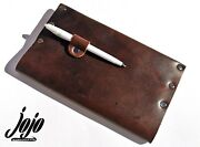 Jojo Genuine Durable Handmade Leather Book And Note/ Blank Diaries And Journals