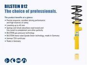 Bilstein B12 2012 Bmw 328i Base Wagon Front And Rear Suspension Kit