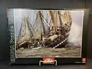 Educa Belem 1500 Piece Jigsaw Puzzle Clipper Ship 16003 Complete  Counted.