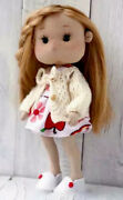 Baby Girl Hand Made Toys Play Interior Doll And Cutie Clothes Design Home .gift